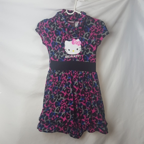 2ea5830dc Hello Kitty Dresses | Girls Cheetah Pink Dress | Poshmark